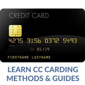 Learn Carding CC methods guides